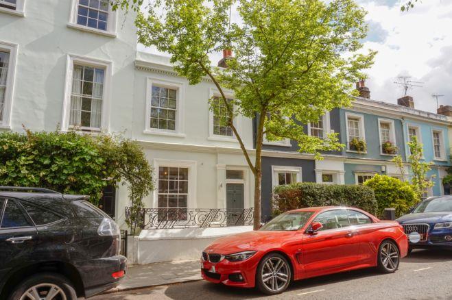 3 bedroom terraced house Portobello Road, London
