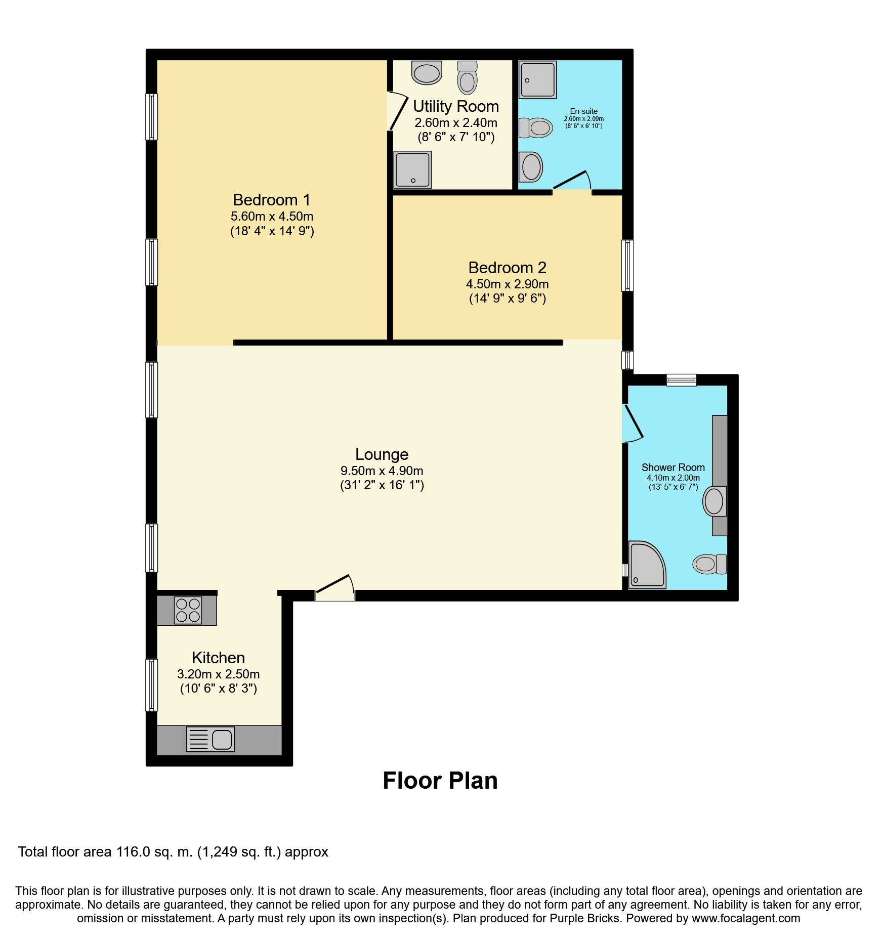 Two Bedroom Apartments London: 16 Whitehall, London
